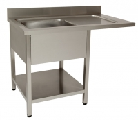 Sink unit for dishwashers
